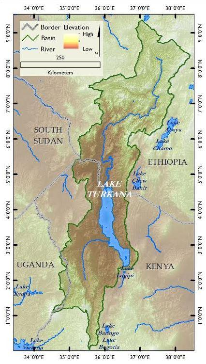 Lake Turkana Map